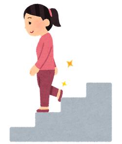 階段を降りにくいときには、足首のバランスをチェックしてみましょう 〜ある日の施術より〜_e0073240_07105960.jpg