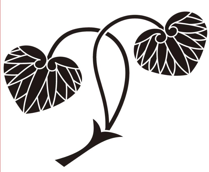 徳川家の葵紋と門松_a0277742_17494358.png
