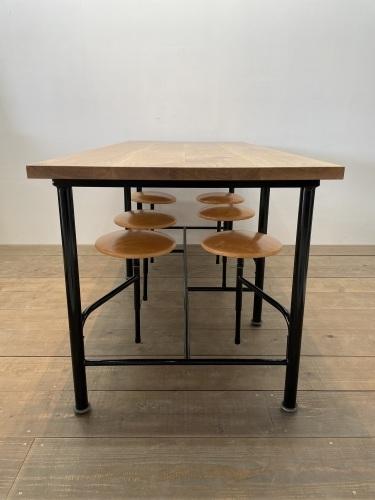 OLD TABLE & STOOL_c0146581_15042842.jpg