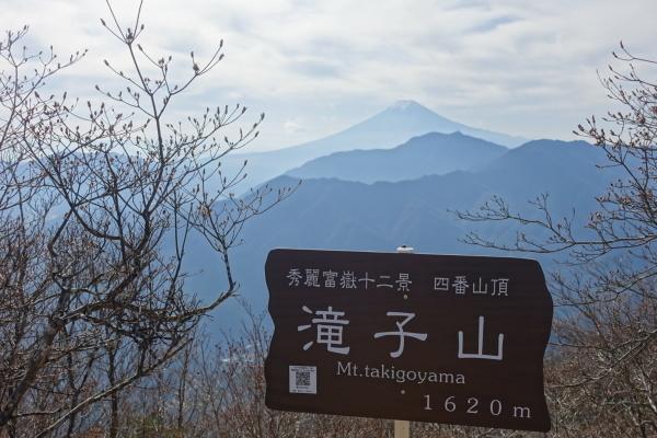 秀麗富嶽十二景 滝子山、本社ヶ丸&清八山。_a0138134_17513187.jpeg