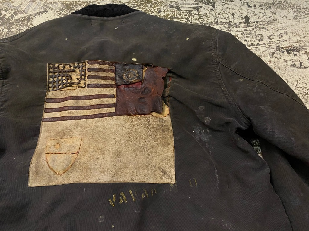 12月23日(水)マグネッツ大阪店Vintage入荷日!! #1 U.S.Navy編!! DeckHookJKT BloodChit,N-1 DeckJKT Stencil,DeckPants,N-3_c0078587_17251201.jpg