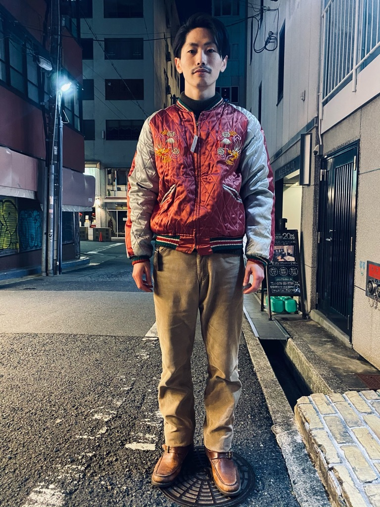 マグネッツ神戸店 12/23(水)Vintage入荷! #1 Japan Souvenir Jacket!!!_c0078587_21521486.jpg