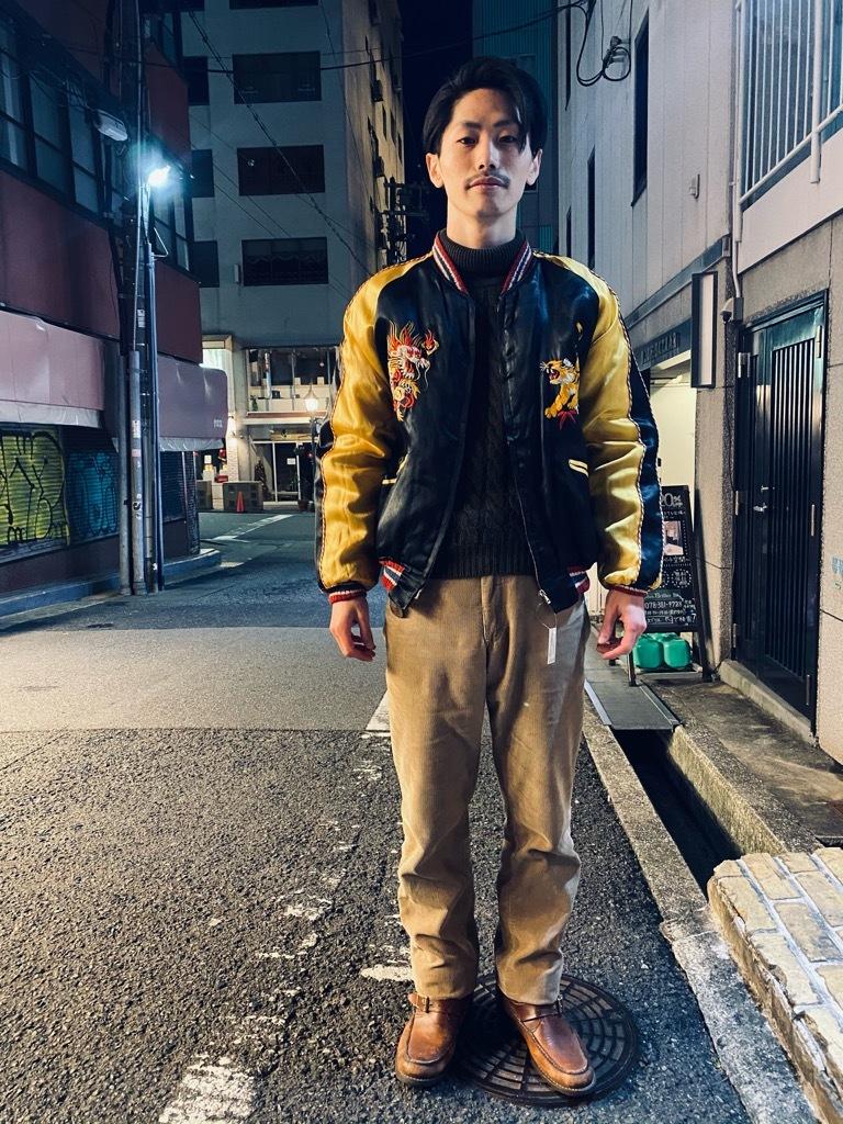 マグネッツ神戸店 12/23(水)Vintage入荷! #1 Japan Souvenir Jacket!!!_c0078587_21521584.jpg