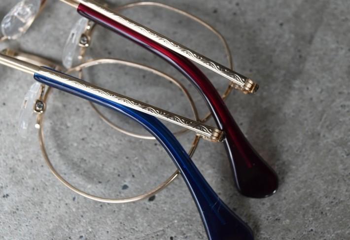 七宝カラーがあしらわれたおしゃれこどもメガネ BCPC KIDS BK-023_f0338654_12043902.jpg