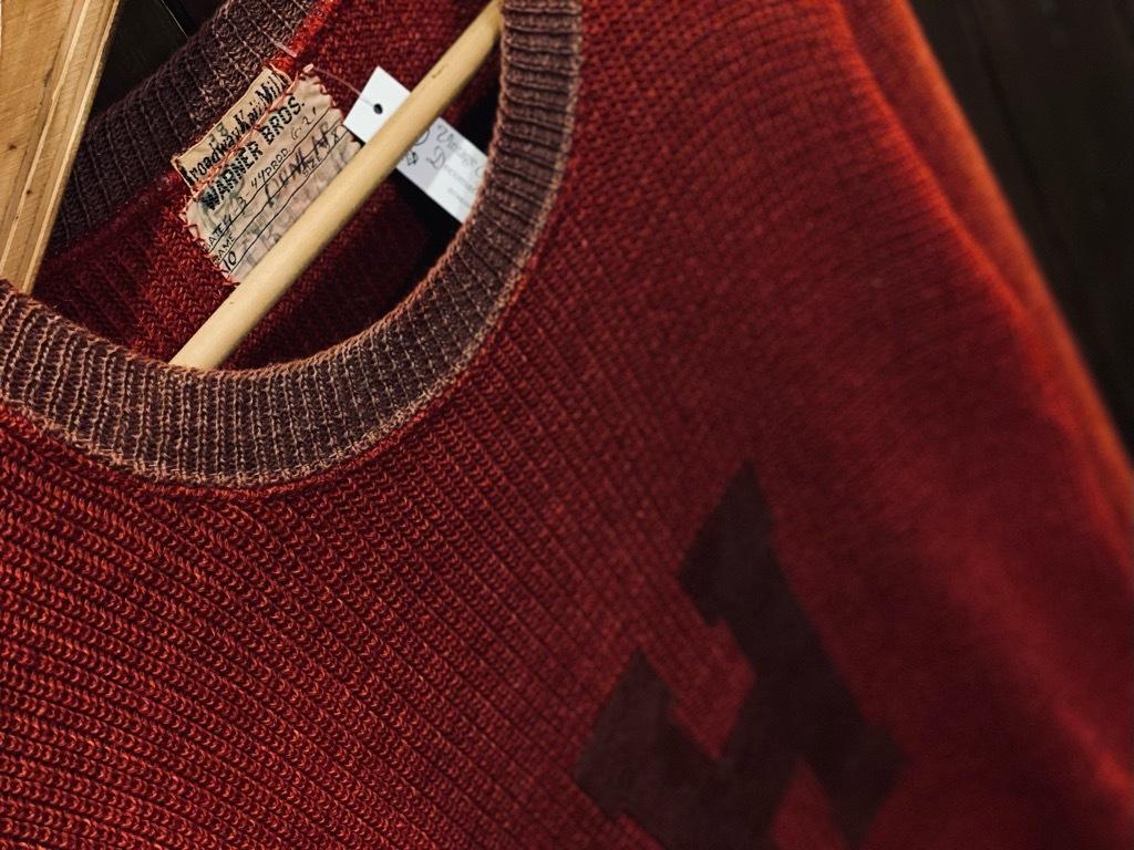 マグネッツ神戸店 12/23(水)Vintage入荷! #3 Athletic Knit Item!!!_c0078587_10461288.jpg
