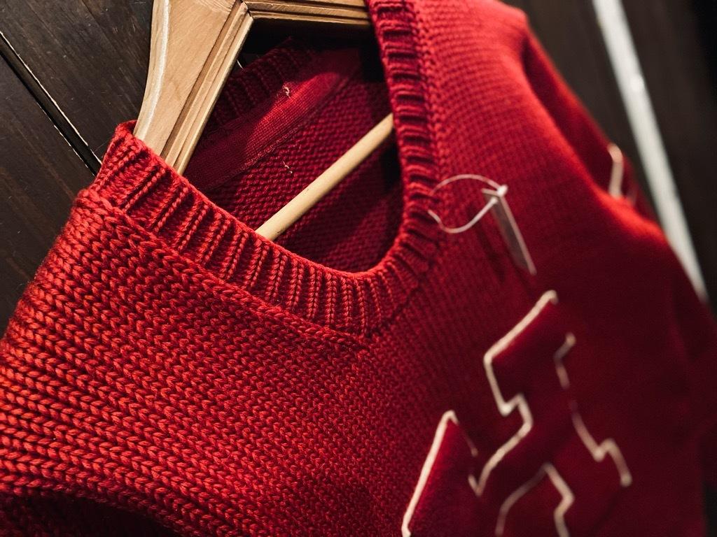 マグネッツ神戸店 12/23(水)Vintage入荷! #3 Athletic Knit Item!!!_c0078587_10470403.jpg