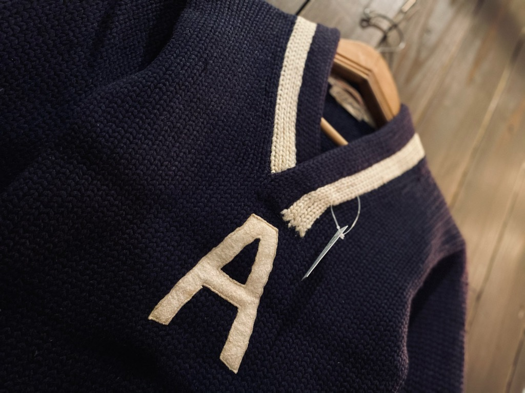 マグネッツ神戸店 12/23(水)Vintage入荷! #3 Athletic Knit Item!!!_c0078587_10490853.jpg