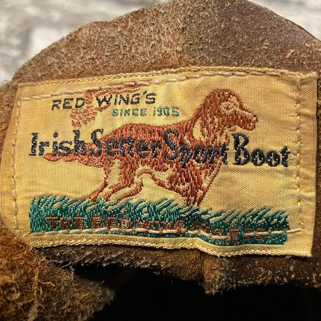 12月23日(水)マグネッツ大阪店Vintage入荷日!! #3 WorkBoots&編!! STAR BRAND,RED WING IrishSetter,L.L.Bean,Thorogood!!_c0078587_13432612.jpg