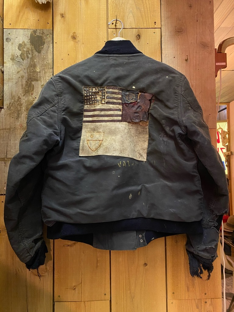 12月23日(水)マグネッツ大阪店Vintage入荷日!! #1 U.S.Navy編!! DeckHookJKT BloodChit,N-1 DeckJKT Stencil,DeckPants,N-3_c0078587_15275417.jpg