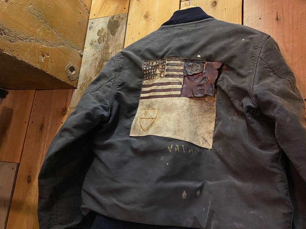 12月23日(水)マグネッツ大阪店Vintage入荷日!! #1 U.S.Navy編!! DeckHookJKT BloodChit,N-1 DeckJKT Stencil,DeckPants,N-3_c0078587_15275604.jpg