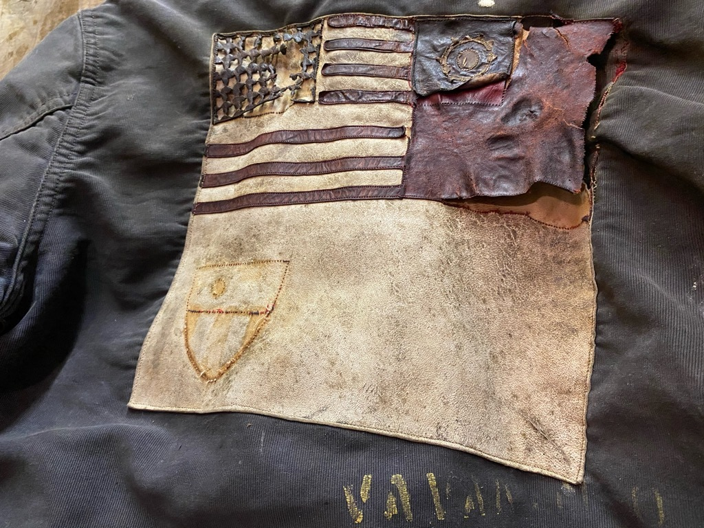 12月23日(水)マグネッツ大阪店Vintage入荷日!! #1 U.S.Navy編!! DeckHookJKT BloodChit,N-1 DeckJKT Stencil,DeckPants,N-3_c0078587_15275732.jpg
