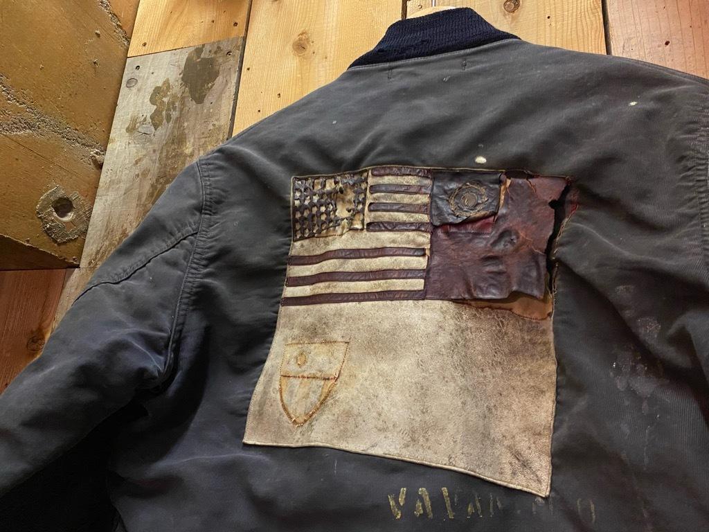 12月23日(水)マグネッツ大阪店Vintage入荷日!! #1 U.S.Navy編!! DeckHookJKT BloodChit,N-1 DeckJKT Stencil,DeckPants,N-3_c0078587_15280084.jpg
