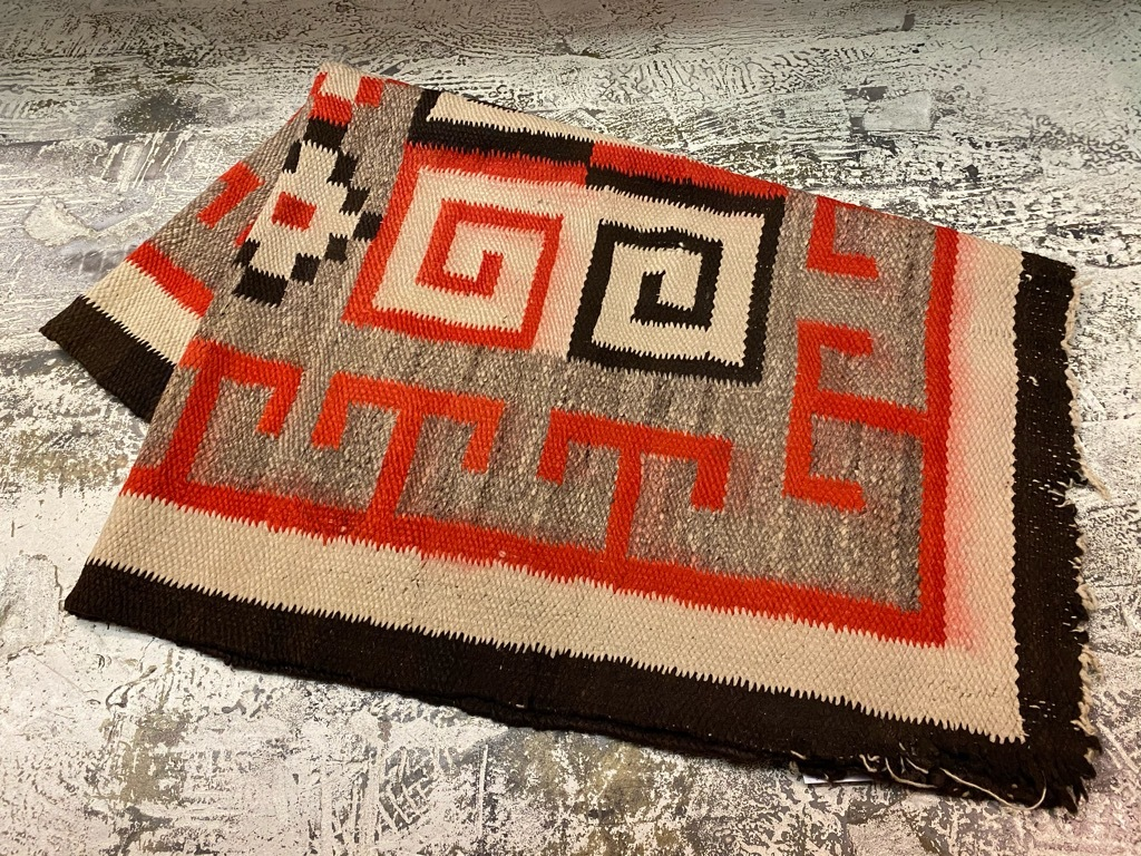 12月23日(水)マグネッツ大阪店Vintage入荷日!! #5 VintageRug編!! Navajo Swastika,Chimayo RugJKT!!_c0078587_22390363.jpg