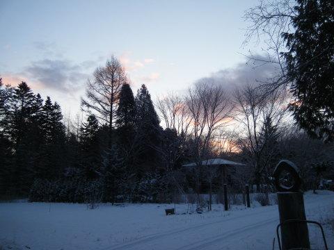 冬至の朝_b0343293_21402899.jpg