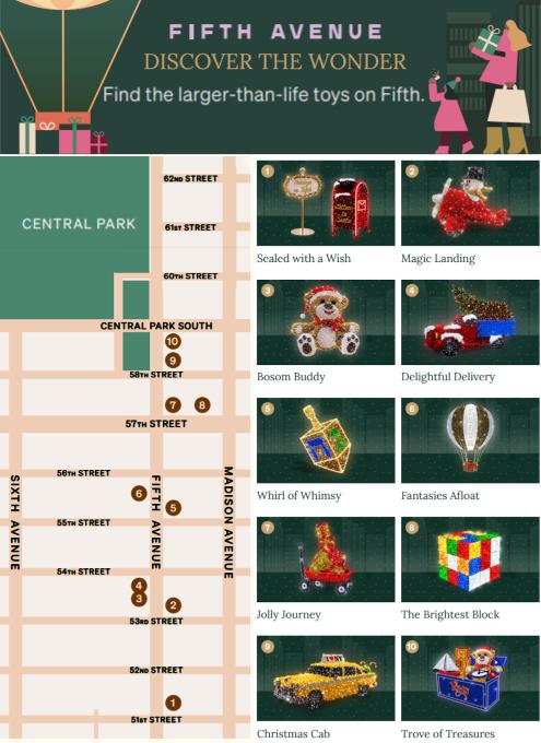 """光る巨大おもちゃでニューヨークの五番街を飾り付け """"Make it Bright"""" campaign 2020-21_b0007805_06104293.jpg"""