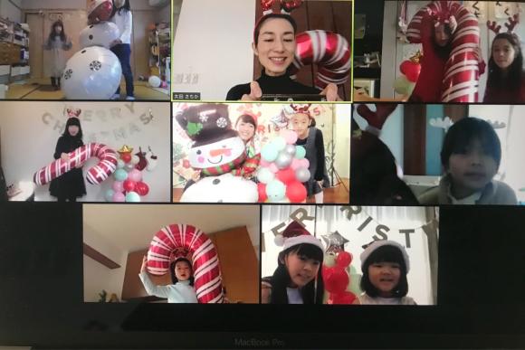 『Kids party school 2020』クリスマス_d0339705_16531587.jpg