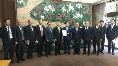 12月9日 農林水産関係の議員連盟が知事要望を実施_d0225737_17383606.jpg