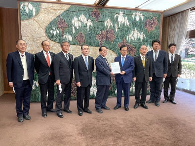 12月9日 農林水産関係の議員連盟が知事要望を実施_d0225737_17385254.jpg