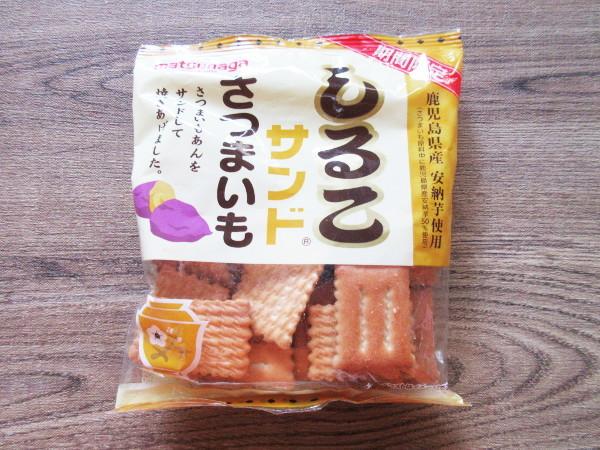 【松永製菓株式会社】期間限定 しるこサンド さつまいも_c0152767_14283172.jpg