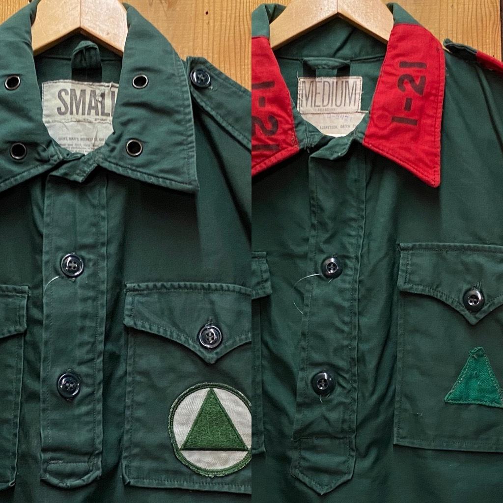 12月23日(水)マグネッツ大阪店Vintage入荷日!! #7 U.S.Army編!! M-43 Frogskin,HBT Combat, SpecialShirt,M-51 Fishtail,Ag_c0078587_02264473.jpg