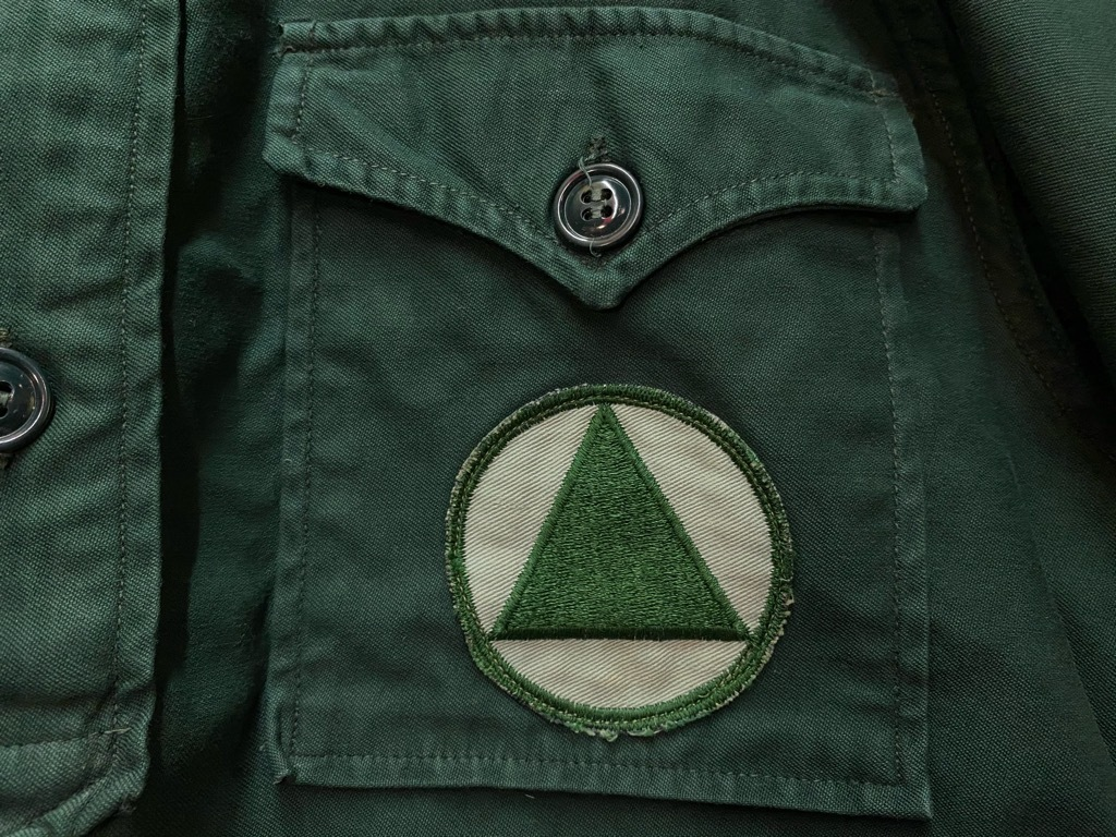12月23日(水)マグネッツ大阪店Vintage入荷日!! #7 U.S.Army編!! M-43 Frogskin,HBT Combat, SpecialShirt,M-51 Fishtail,Ag_c0078587_02265671.jpg