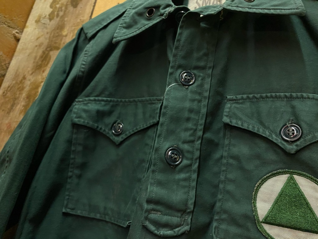 12月23日(水)マグネッツ大阪店Vintage入荷日!! #7 U.S.Army編!! M-43 Frogskin,HBT Combat, SpecialShirt,M-51 Fishtail,Ag_c0078587_02265748.jpg