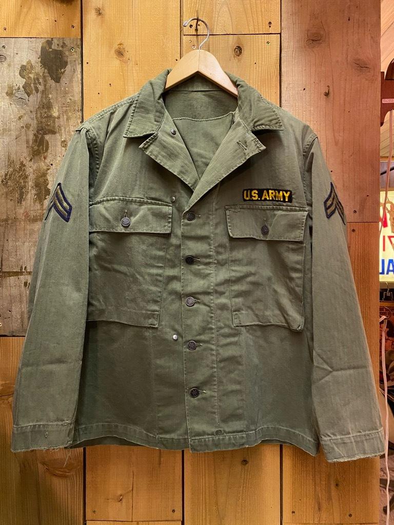 12月23日(水)マグネッツ大阪店Vintage入荷日!! #7 U.S.Army編!! M-43 Frogskin,HBT Combat, SpecialShirt,M-51 Fishtail,Ag_c0078587_02344603.jpg