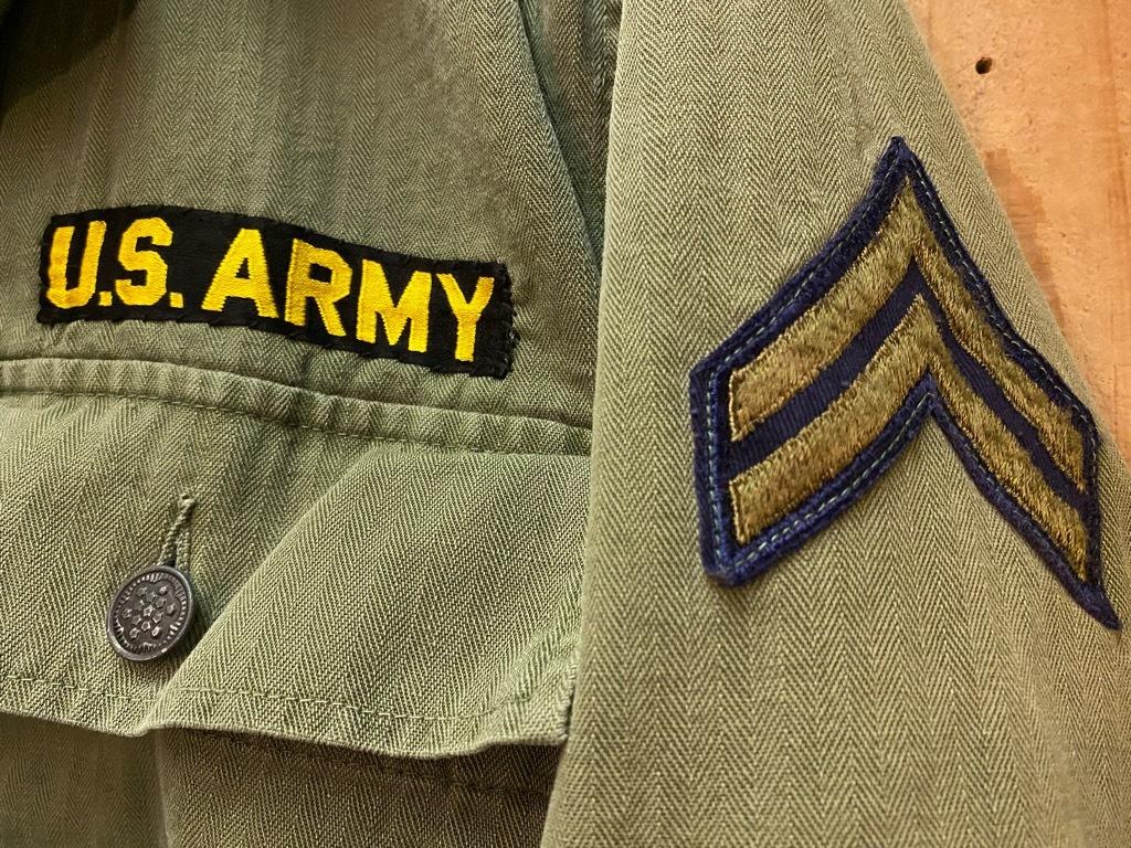 12月23日(水)マグネッツ大阪店Vintage入荷日!! #7 U.S.Army編!! M-43 Frogskin,HBT Combat, SpecialShirt,M-51 Fishtail,Ag_c0078587_02345092.jpg