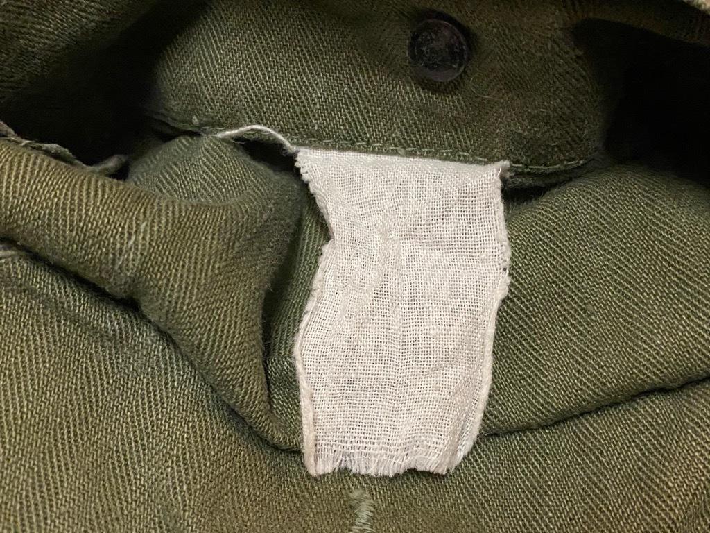 12月23日(水)マグネッツ大阪店Vintage入荷日!! #7 U.S.Army編!! M-43 Frogskin,HBT Combat, SpecialShirt,M-51 Fishtail,Ag_c0078587_02345594.jpg