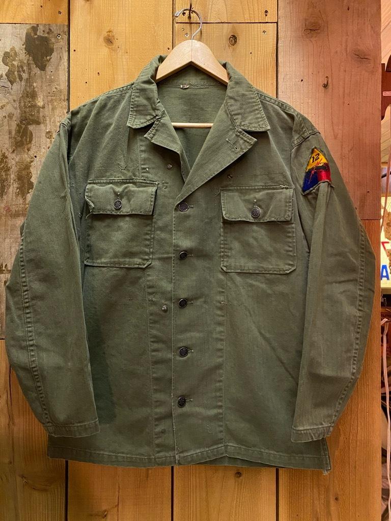 12月23日(水)マグネッツ大阪店Vintage入荷日!! #7 U.S.Army編!! M-43 Frogskin,HBT Combat, SpecialShirt,M-51 Fishtail,Ag_c0078587_02353155.jpg