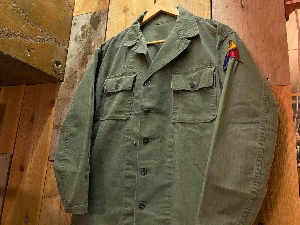 12月23日(水)マグネッツ大阪店Vintage入荷日!! #7 U.S.Army編!! M-43 Frogskin,HBT Combat, SpecialShirt,M-51 Fishtail,Ag_c0078587_02353421.jpg