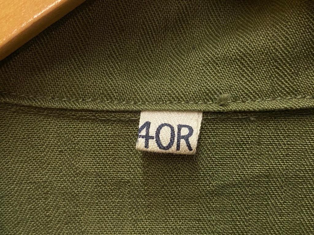 12月23日(水)マグネッツ大阪店Vintage入荷日!! #7 U.S.Army編!! M-43 Frogskin,HBT Combat, SpecialShirt,M-51 Fishtail,Ag_c0078587_02361505.jpg