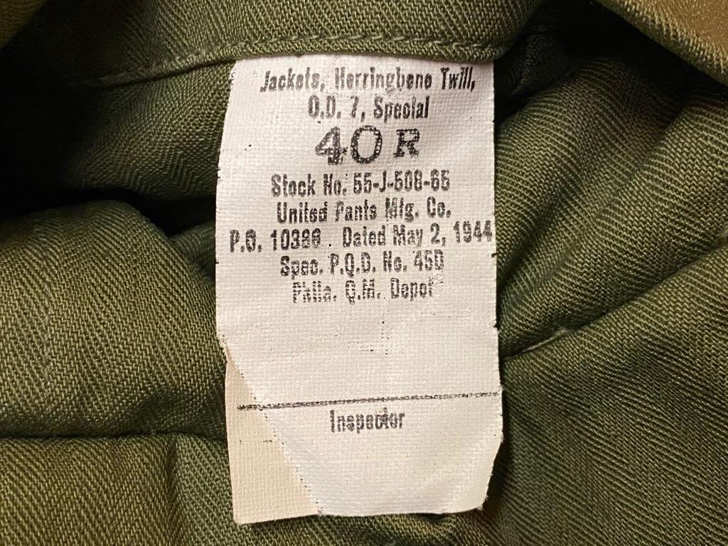12月23日(水)マグネッツ大阪店Vintage入荷日!! #7 U.S.Army編!! M-43 Frogskin,HBT Combat, SpecialShirt,M-51 Fishtail,Ag_c0078587_02361808.jpg