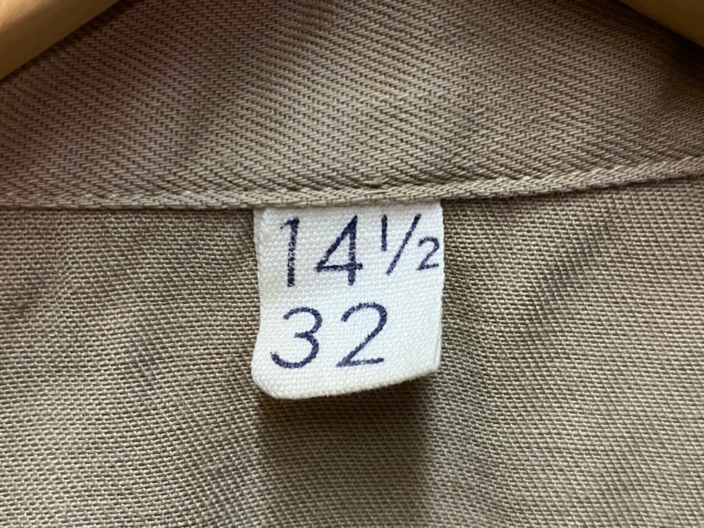 12月23日(水)マグネッツ大阪店Vintage入荷日!! #7 U.S.Army編!! M-43 Frogskin,HBT Combat, SpecialShirt,M-51 Fishtail,Ag_c0078587_02392954.jpg