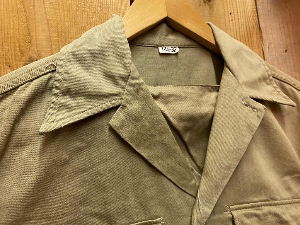 12月23日(水)マグネッツ大阪店Vintage入荷日!! #7 U.S.Army編!! M-43 Frogskin,HBT Combat, SpecialShirt,M-51 Fishtail,Ag_c0078587_02400383.jpg