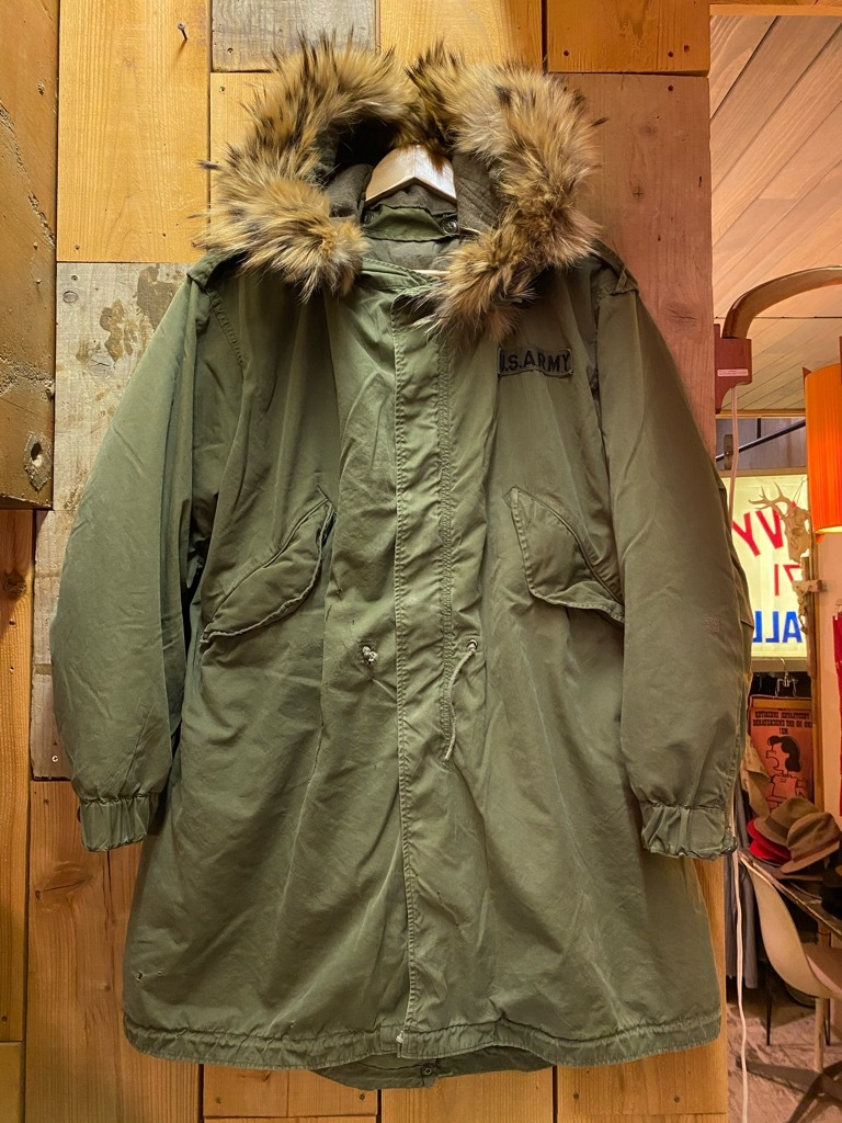 12月23日(水)マグネッツ大阪店Vintage入荷日!! #7 U.S.Army編!! M-43 Frogskin,HBT Combat, SpecialShirt,M-51 Fishtail,Ag_c0078587_02534203.jpg