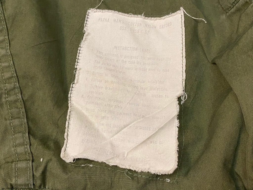 12月23日(水)マグネッツ大阪店Vintage入荷日!! #7 U.S.Army編!! M-43 Frogskin,HBT Combat, SpecialShirt,M-51 Fishtail,Ag_c0078587_02534552.jpg