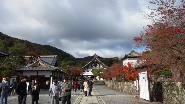 2020年秋の京都へ⑤嵐山散策まずは天龍寺から_f0146587_19475133.jpg