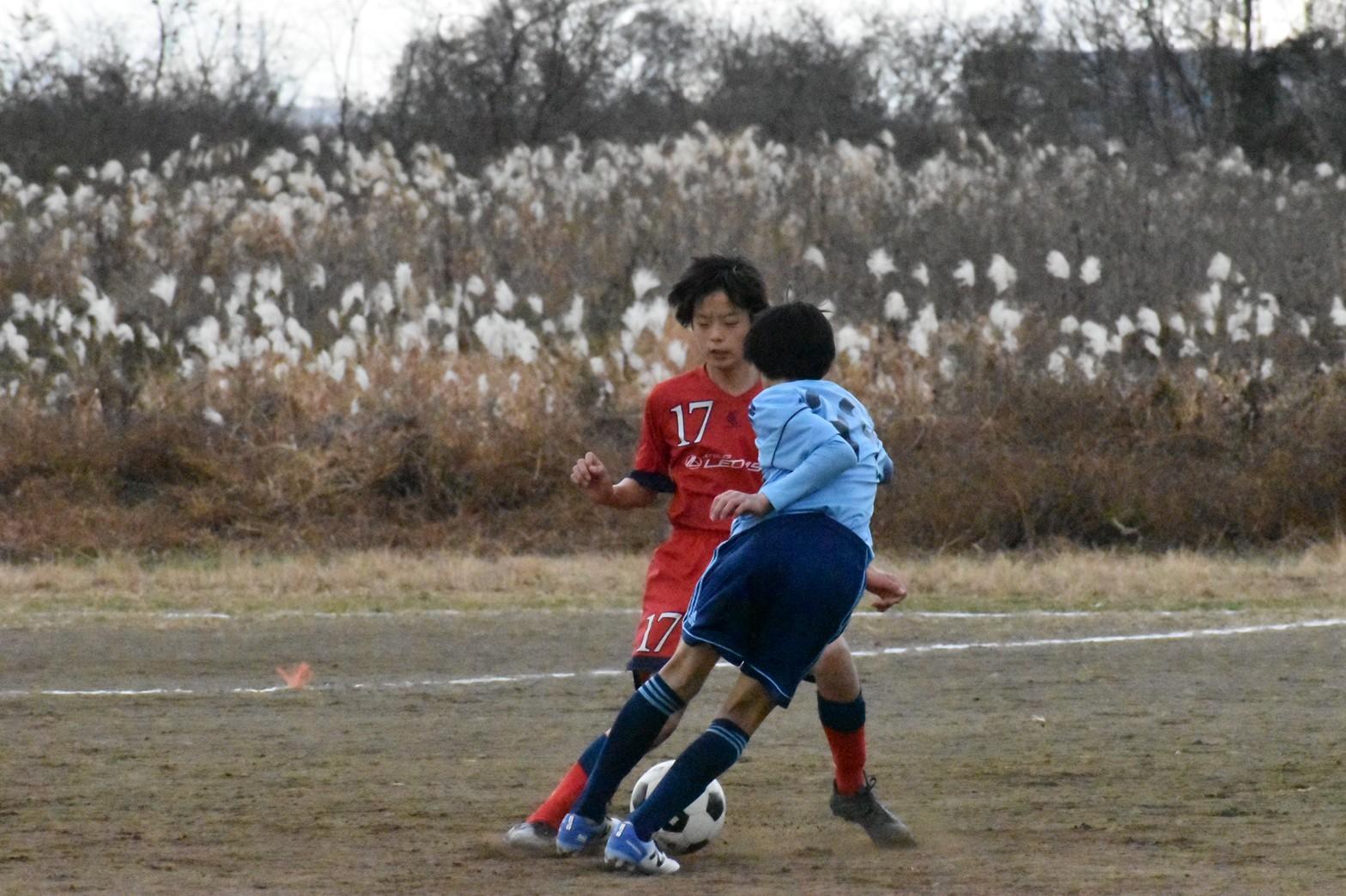 U-14練習試合+U-15_a0109314_11412654.jpg