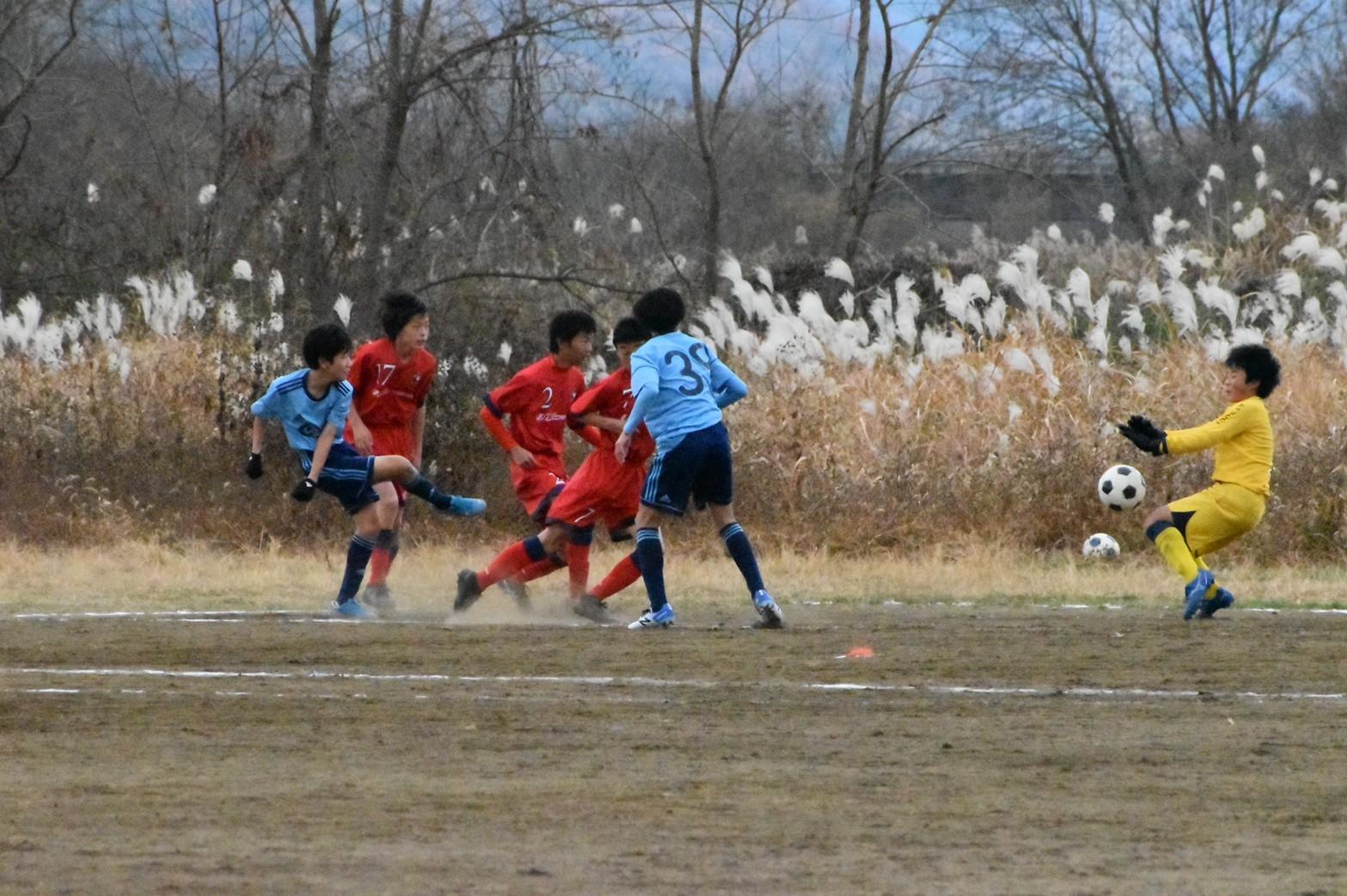 U-14練習試合+U-15_a0109314_11424218.jpg
