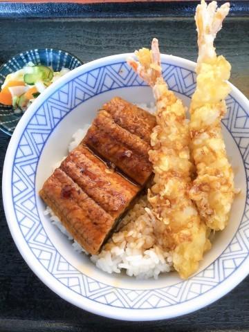 うな海老天丼byヒライ_e0184224_13094912.jpg