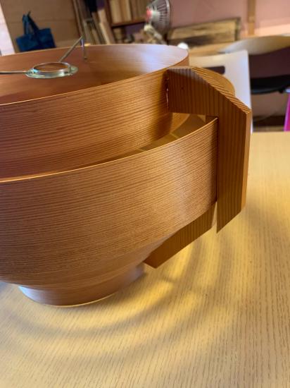 ヤコブセンランプ名作 JAKOBSSON LAMP 照明器具 修理 34_f0053665_20323747.jpg