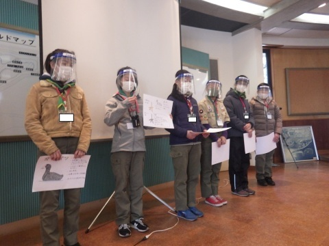 ボーイスカウト日本連盟の子どもたちの対応を行いました_e0046474_21060374.jpg