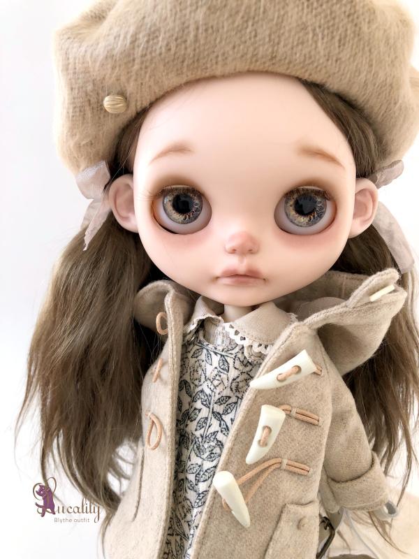 *lucalily * dolls clothes* Beige Duffle Coat Set *_d0217189_22163541.jpeg