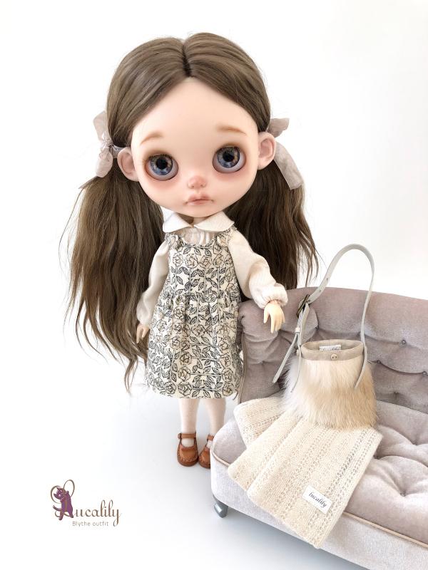 *lucalily * dolls clothes* Beige Duffle Coat Set *_d0217189_22164383.jpeg
