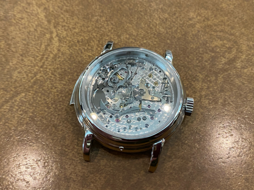 now being overhauling the historical piece, ref.3974P with black dial_c0128818_23271324.jpg
