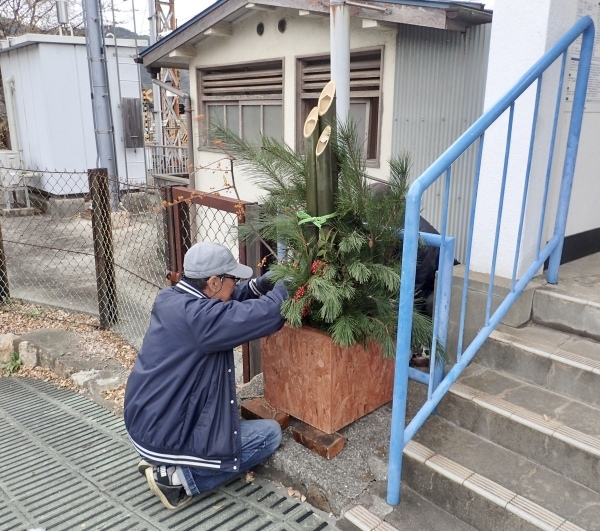 12月24日 門松飾り付け_c0239329_20370663.jpeg