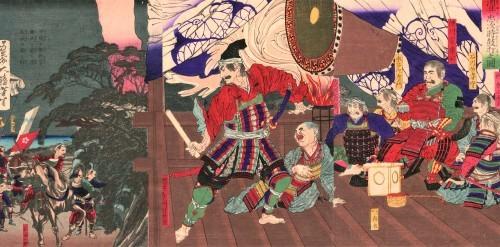 徳川家の葵紋と門松_a0277742_17510763.jpg