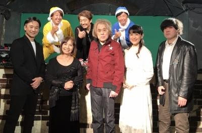 ちょっと早めのクリスマスON LINE LIVE『サンタはつらいよ』ありがとうございました!_a0087471_17405949.jpg