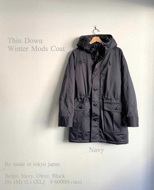 Thin Down Winter Mods Coat_c0379477_15412971.jpg